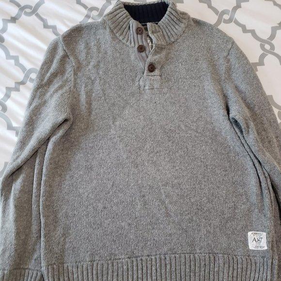 Aeropostale 1/4 Button Sweater